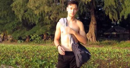 lungi as sling bag