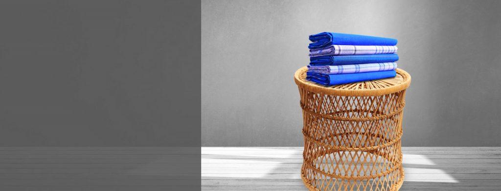 buy blue lungis