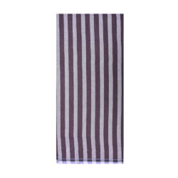 Black 1Inch Stripe Lungi
