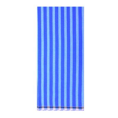 blue color 1inch stripe lungi