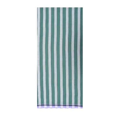 green color 1inch stripe lungi
